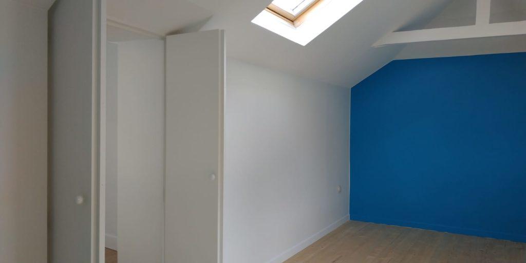 Photo de travaux de peinture et de rénovation de parquet à Lille