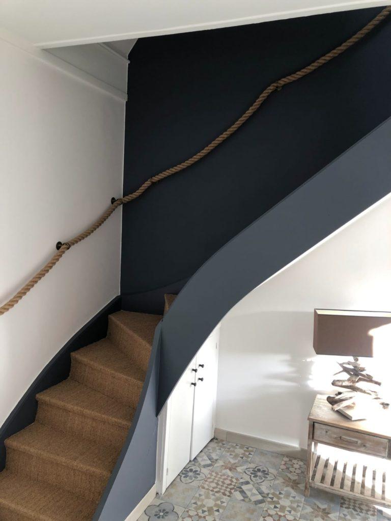 Photo de travaux de peinture et sol à Lille
